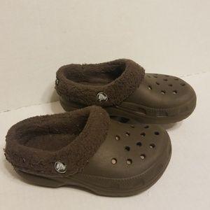 Crocs slides toddler boy or girl size 11 C